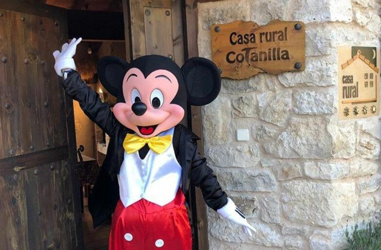 Mickey Mouse anemenizará tu estancia en Casa rural Cotanilla