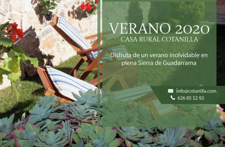 Vacaciones rurales en familia: Casa rural Cotanilla, El Cubillo - Segovia